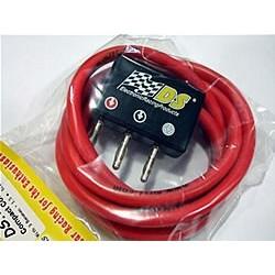 Conector compacto + 1.5m. cable de silicona