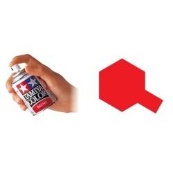 Pintura spray esmalte rojo italiano