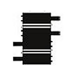 Ref.10104- 2 x Recta 10cm.