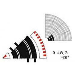 Ref. 10106- 2 x Curva Interior