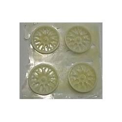 Tapacubos resina 20mm. 1/24