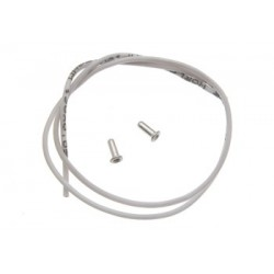 Cable 30cm. 0.25mm. extraflexible con terminales