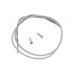Cable 30cm. 0.25mm. extraflexible con terminales