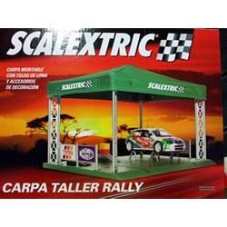 Carpa taller rally
