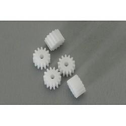 5 x Piñon 14d nylon Diametro 8mm
