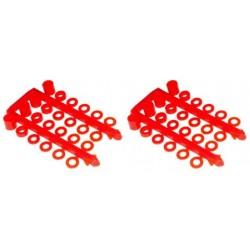 Separadores con plastico de nylon (3mm)
