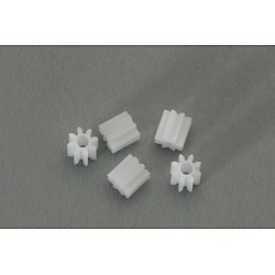 5 x piñones 8d. de nylon M50 diametro 5mm.