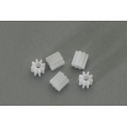 5 x piñones 8d. de nylon M50 diametro 5mm.