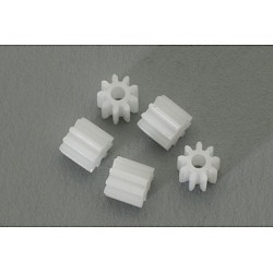 5 x piñones de 9d. nylon M50 diametro 5.5mm