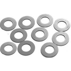 10 x Separadores guia 1/32 acero inox. 0.13mm