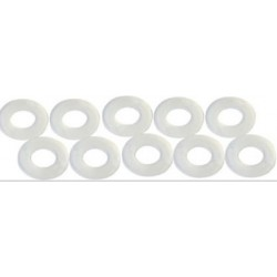 10 x Separadores guia 1/32 plastico 0.8mm