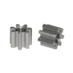 Piñon 7d. M50 Aluminio para Eje 2mm Ø 4,5mm