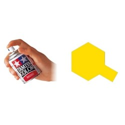 Pintura spray esmalte amarillo cromado TS-47