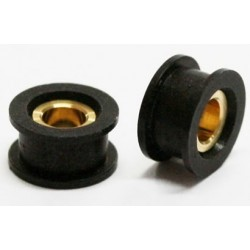 2 x  cojinetes universal Combi Black