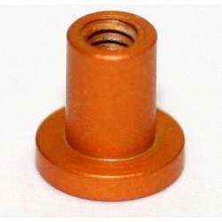 Casquillo limitador 4mm M2 color cobre