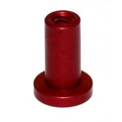 Casquillo limitador 6mm M2 color rojo