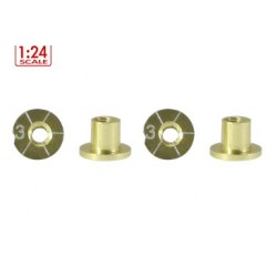 Casquillos de sujeccion H3mm Non-Concentric