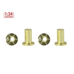 Casquillos de sujeccion H6mm Non-Concentric