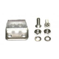 Pasacables de acero inox + tornillos