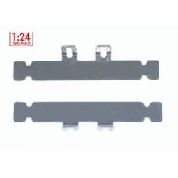 Soporte carroceria L Aluminio 53mm