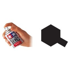 Pintura spray esmalte negro mate TS-6