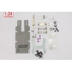 Chasis SWRC 1/24 acero 1,5mm