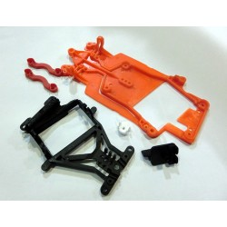Kit chasis AW orange p/guia pivotante