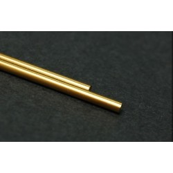 2 x Eje acero 55mm Golden