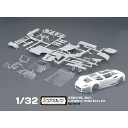 Carroceria Spyker C8 kit blanca