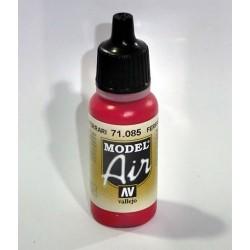 Pintura acrilica para aerografo color rojo ferrari
