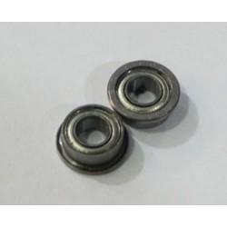 Rodamientos a bolas de acero 3x6mm.