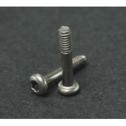 8 x Tornillos titanio cuna M2 T6