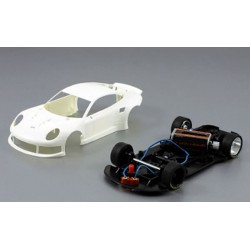 Porsche 911 GT3 kit racing white