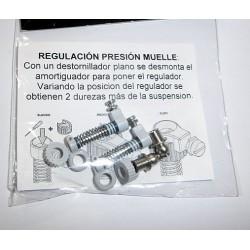 2 x Amortiguador EVO-A_L + cojinete rotula
