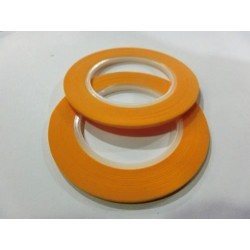 2 x cinta adhesiva de enmascarar 2mm x 18m