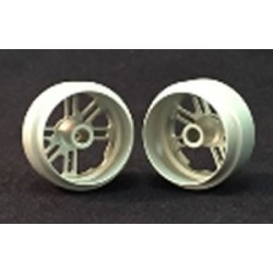 2 x Llanta trasera 16.9x10 aluminio