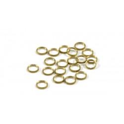Separadores 0.5mm eje 3/32 bronce