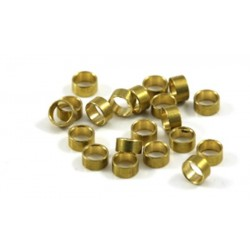 Separadores 1.5mm eje 3/32 bronce