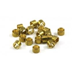 Separadores 2mm eje 3/32 bronce