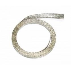 Trencilla de cobre estañada 1m