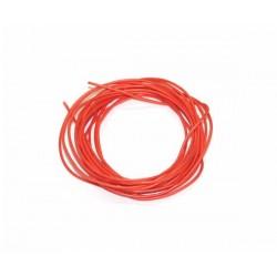 Cable de silicona libre de oxigeno diametro 1mm - 2m.