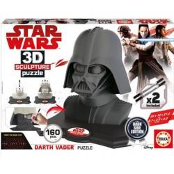 Darth Vader puzzle 3D 160 piezas