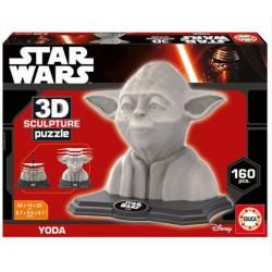 Yoda puzzle 3D 160 piezas