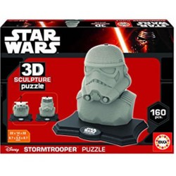Stormtrooper puzzle 3D 160 piezas