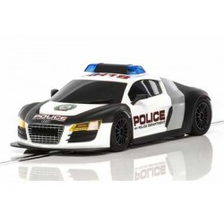 Audi R8 Police Car Black & White