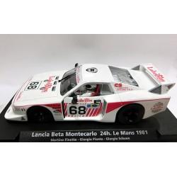 Lancia Beta Montecarlo 24h Le Mans 1981
