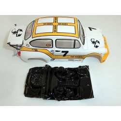 Lexan rally Abarth 600 1000TCR compatible SCX