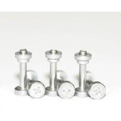 Kit tornillo suspension aluminio M2 x 11m + tuerca aluminio