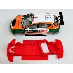 Chasis Leon MK3 rally Evo Block AW compatible con SCX