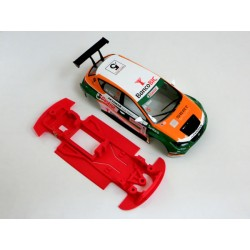 Chasis Leon MK3 rally Evo Block lineal compatible SCX
